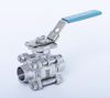 3PC female thread M3 ball valve 1000WOG